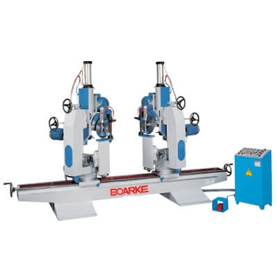 PC-B431 Automatic Double End Miter Saw with Boring Head Machine
