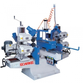 PC-B421 Double End with Top & Bottom Saw with Moulding Head Machine